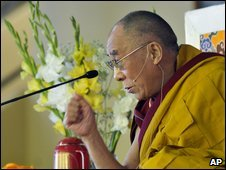 Dalai Lama in India, 11 March
