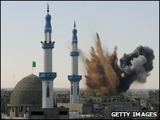 Israeli shelling of Gaza