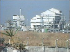 Union Carbide plant (BBC)