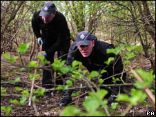 Police search St Nicholas Fields in York