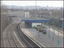 Port Talbot Parkway Train Station