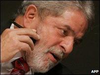 El presidente de Brasil, Luiz In�cio Lula da Silva.