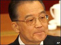 El premier chino Wen Jiabao