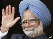 El primer ministro indio, Manmohan Singh