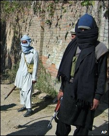 Taleban members in Swat