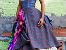 Judy R Clark designed dress