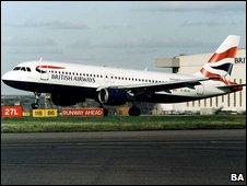 BA Airbus A321