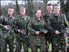 Military Preparation College pupils