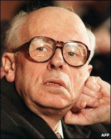 The Soviet dissident Andrei Sakharov
