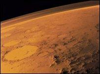 Planeta Marte (imagen cortesía de NASA)