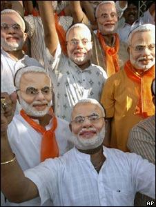 Narendra Modi's supporters