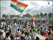 Congress rally