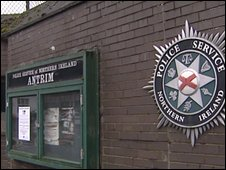 The men were being questioned at Antrim Police Station