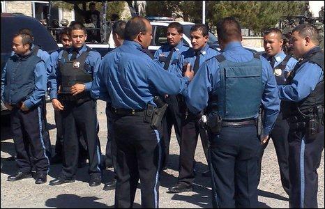 Mexican Police in Ciudad Juarez