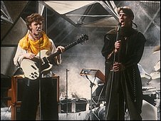 Spandau Ballet on Top of the Pops in 1980