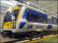 Northern Ireland Railways train