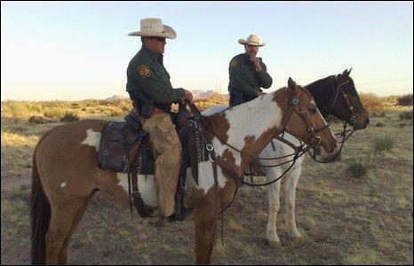 US horse border patrol