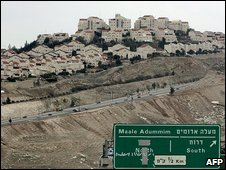 Maale Adumim, built on occupied Palestinian land