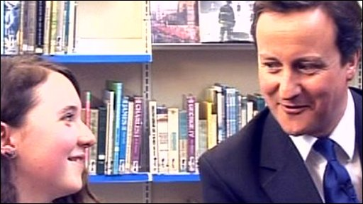 School Reporter and David Cameron