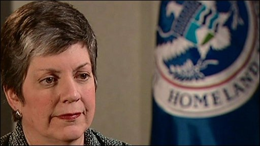 JANET NAPOLITANO, Homeland Security Secretary