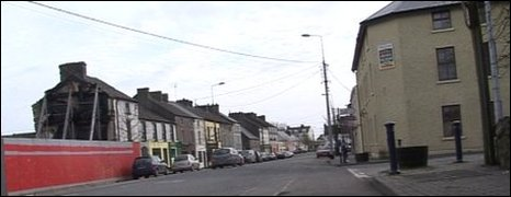 Cloughjordan's main street