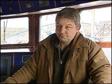 Allen Findlay, skipper of Concorde