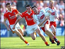 2005 Ulster Senior gaelic football final at Dublin's Croke Park