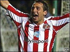 Cardiff City's Michael Chopra