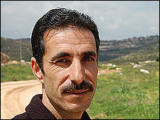 Abdul Nasser, resident of Qaryut village