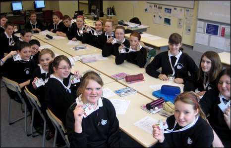 Gloucester School pupils