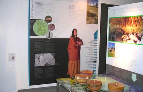 The museum houses an interactive exhibition documenting the history of Caerphilly County
