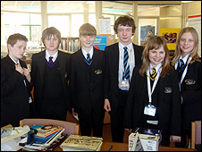 Pupils at Stokesley School