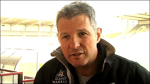 Glasgow Warriors coach Sean Lineen