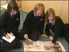 School Reporters at Polesworth