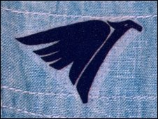 Motif on a shirt identical to the one the man was wearing