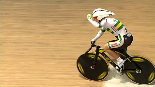 Australia win women's team sprint