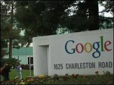Sign at Google in Charleston Road