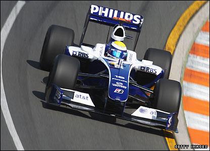 Williams driver Nico Rosberg