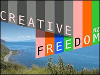 Website of Creative Freedom Foundation (New Zealand)