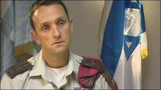 Colonel Herzi, Israeli paratrooper brigade commander
