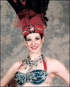 Folies dancer Cari Bryer
