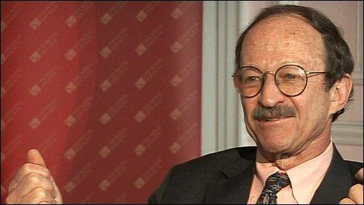 Harold Varmus, nobel prize winning cancer specialist