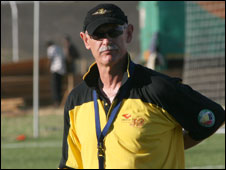 Mozambique's Dutch coach Mart Nooij
