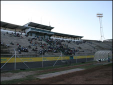 The Machava Stadium in Maputo