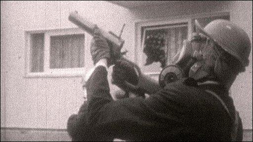 Riot policeman 1969