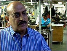 Textile factory owner