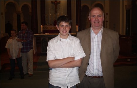 Jimmy and Barry Mizen