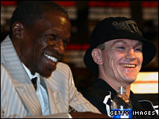 Mayweather Sr & Ricky Hatton