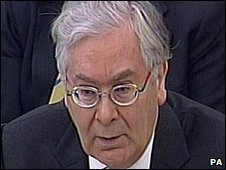 Bank Governor Mervyn King
