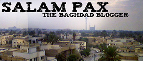 Blog image for Salam Pax